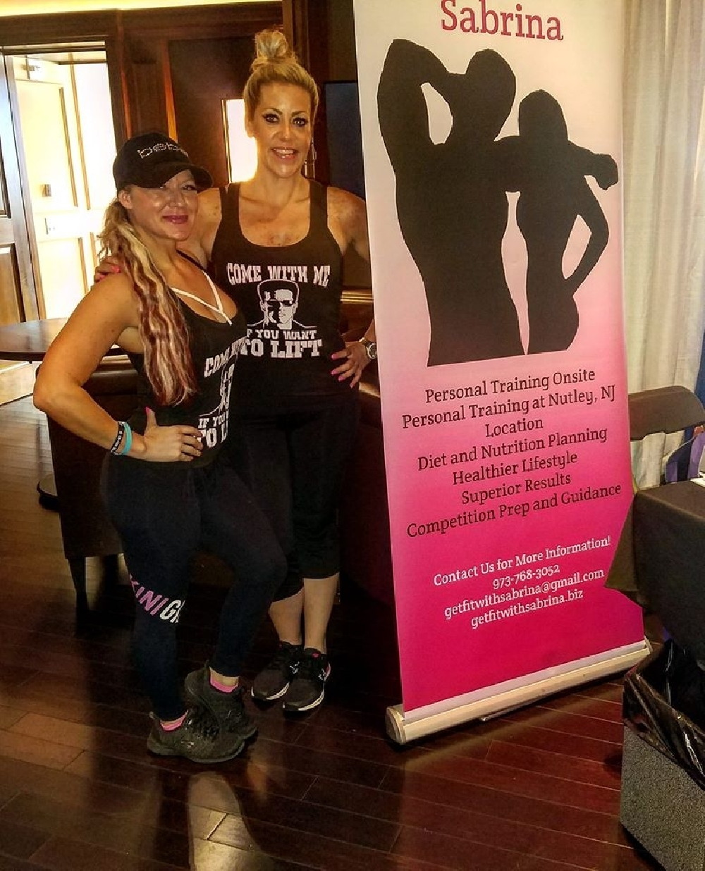 Get Fit With Sabrina Nutley Personal Trainer